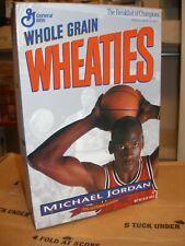 Empty Wheaties Collectors Edition Box - Michael Jordan Chicago Bulls HOF