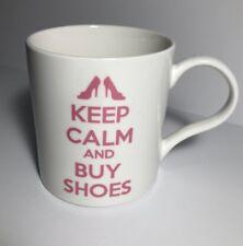 KENT POTTERY KEEP CALM AND BUY SHOES Coffee Mug Tea Mug (B)