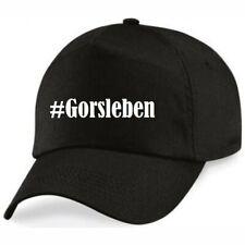 Basecap #Gorsleben Hashtag Raute für Damen Herren und Kinder