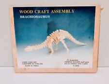 Wood Craft Assembly Brachiosaurus Puzzle Toy Brand New Sealed Free Shipping
