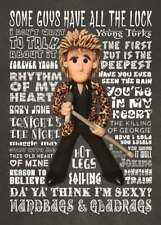 Inspired by Rod Stewart Greeting Birthday Card