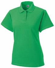 Camisas y tops de mujer de manga corta Polo color principal verde