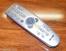 Genuine Sanyo (CXFA) TV Projector Pre-Programmed Remote Control PLC-XP17N Etc.
