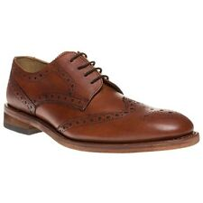 Mens SOLE Tan Surrey Leather Shoes Brogue Lace up UK 10