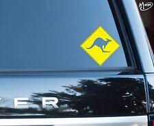 KANGAROO WARNING Reflective Car Stickers JDM Decals 11CM Best Gift Present