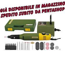Proxxon 28515 Mini Trapano fresatore incisore 12V + 34 accessori MicroMot MM50/E