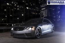 20x9 +25 20x11 +28 Rohana RC22 5x112 Black Wheels Fit Mercedes S550 2009 Concave