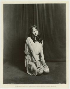 Teenage Stage Star Evelyn Venable Vintage Dreamy 1929 Studio Portrait Photograph