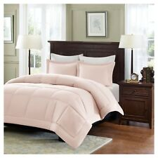 Sarasota Microcell Down Alternative Comforter Mini Set Blush Twin 2 Piece
