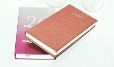 Slim 2020 Diary Ombre/Rose Gold Glitter Planner Day a Page Journal Random Design