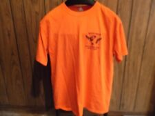 Nickelback 2012 Local Crew shirt Here and Now tour concert large orange Anvil