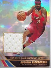 2004 TOPPS BASKETBALL GAME JERSEY QUENTIN RICHARDSON  CLIPPERS JE-QR   B54