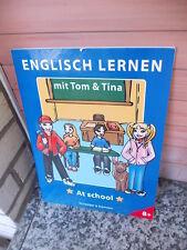 Englisch lernen mit Tom & Tina: At School, aus dem Schwager & Steinlein Verlag