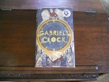 GABRIEL'S CLOCK by Hilton Pashley, SIGNED/DATED, 1st/1st print UK 2013 HCDJ