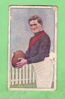 1920 ESSENDON  AUSTRALIAN FOOTBALLERS MAGPIE CIGARETTE  CARD - R. LAING