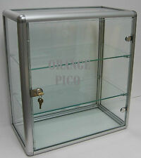 Locking Counter Top Glass Display Case w/ Swing Door : Allegro
