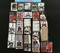 JONAS HILLER Lot x 65 | 2007-08 Game Used Rookie /999 | Ducks | Flames | Swiss