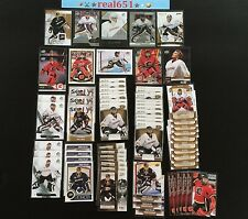 JONAS HILLER Lot x 65 | 2007-08 Game Used Rookie /999 | Ducks | Flames | Swiss