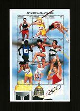 Antigua Barbuda Olympics minisheet Atlanta 1996 MNH
