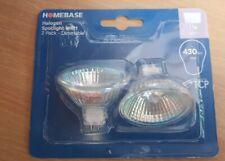 6 x MR11 35w Halogen Spotlight Lamp 12v 35mm Light Bulb Dimmable Homebase