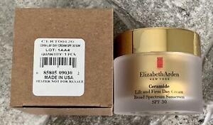 ELIZABETH ARDEN Ceramide Lift and Firm Day Cream 1.7oz SPF30 NWB FRESH 2021