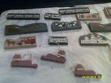 Vintage Cat's Meow Village Accessories-Total 15 Pieces