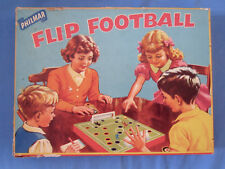 Rare 1950's Flip Football Soccer Game Made in England by Philmar Complete Game