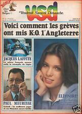 ▬►VSD 73 de 1979 ÉLÉONORE_PAUL MEURISSE_JACQUES LAFFITE_JULIEN CLERC_SERGE LAMA