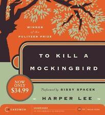 Sealed NEW Audiobook CD Set To Kill a Mockingbird Lee UNABRIDGED Caedmon 2006