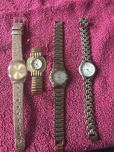 Vintage Costume Watches X4