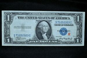 1935-A $1 SILVER CERTIFICATE ✪ XF EXTRA FINE ✪ EXPERIMENTAL R TYPE ◢TRUSTED◣