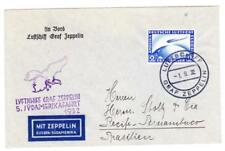 Graf ZEPPELIN 5th SOUTH AMERICA FLIGHT-ZEPP STAMP-ON BOARD CANCEL-31/9/3