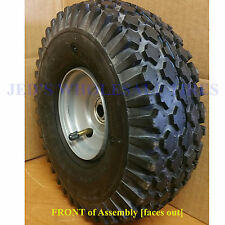 410-4 350-4 4.10/3.50-4 410/350-4 Stud Tire Rim Wheel Assembly 4ply 5/8 bearing