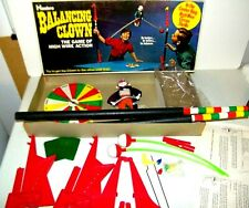 Vintage Rare Complete Hasbro Balancing Clown Toy Game Ex.Cond. 1969