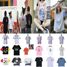 Women Summer Sailor Moon Tops T-Shirt Casual Blouse Short Sleeve Basic Tee Gift