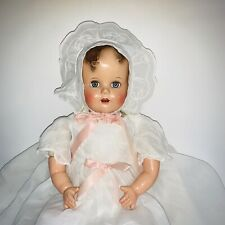 """Vintage Ideal Miracle on 34th Street baby Beautiful RARE 22"""" Compo Doll"""