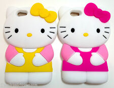 2 X Hello Kitty iPhone 5 Case Cover Multicolor S-2 Great Gift **US SELLER**