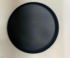 Black Round Plastic Plant Pot Saucer Heavy Duty - 40cm/400mm Qty: x1-100