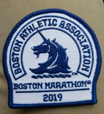 2019 Boston Marathon Official BAA Unicorn Embroidered Patch New!