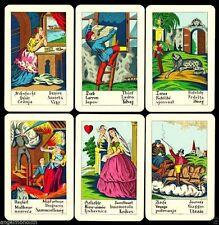 Biedermeier Karten ND1820 Wahrsagekarten Tarot Lenormand Cartomancy 1986