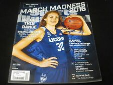 Breanna Stewart Sports Illustrated Signed Magazine Cb12 Jsa Certified Mis54