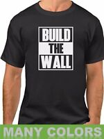 Build The Wall #2 T-shirt Political Tee Donald Trump President Funny Gift Humor