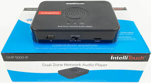 IntelliTouch OHP 9000-IP Dual Zone Network Audio Player - Bulk - New - Unused