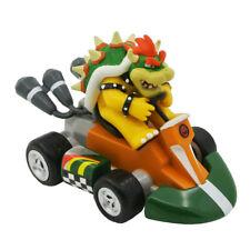 Super Mario Bros. Bowser Pull Back Racers Racing Kart Car Toy 9CM Figure