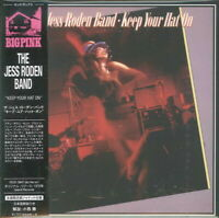 JESS RODEN BAND-KEEP YOUR HAT ON-IMPORT MINI LP CD WITH JAPAN OBI Ltd/Ed G09