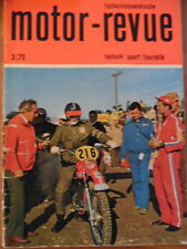 Tschechoslowakische MOTOR REVUE 3- 1975 * Tatra Skoda-Buggy CZ-Motocross Velorex