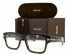 Tom Ford FT5527 052 Dark Havana / Demo Lens 50mm Eyeglasses TF5527