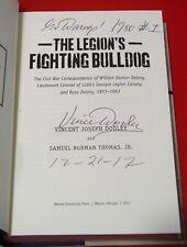 VINCE DOOLEY Signed THE LEGION'S FIGHTING BULLDOG HB Book Georgia UGA PROOF COA