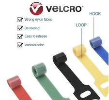 Genuine Velcro® 10x Cable Zip Tie ONE WRAP® 20x200mm Cleat Strap Hoop Loop