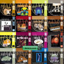 USB Soundscan Vol. 1 - 63 --- AKAI Sample CD Library Bundle